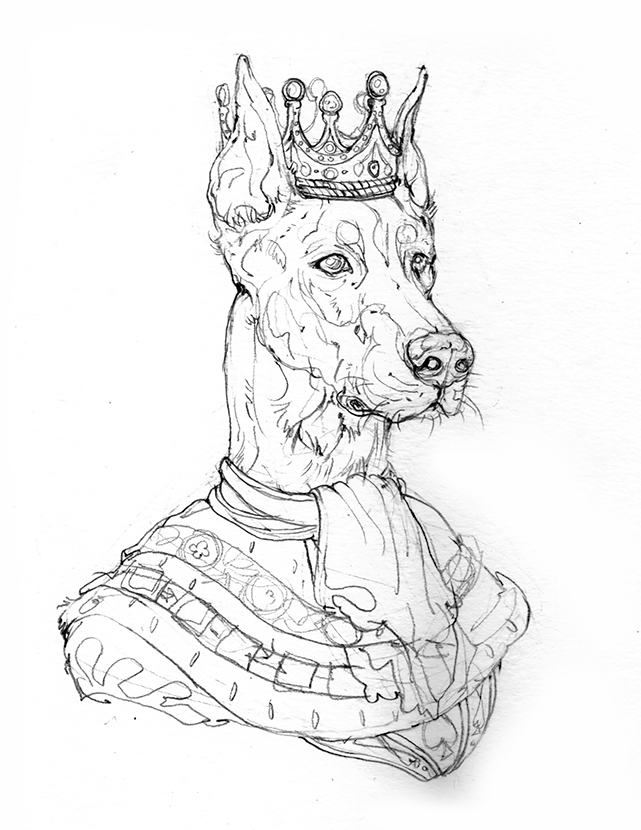 Картинката не може да има празен alt атрибут; името на файла е K-doberman-pika-pop-apash-illustration-dog-king-spares-cards-dog-kingdom-1.jpg
