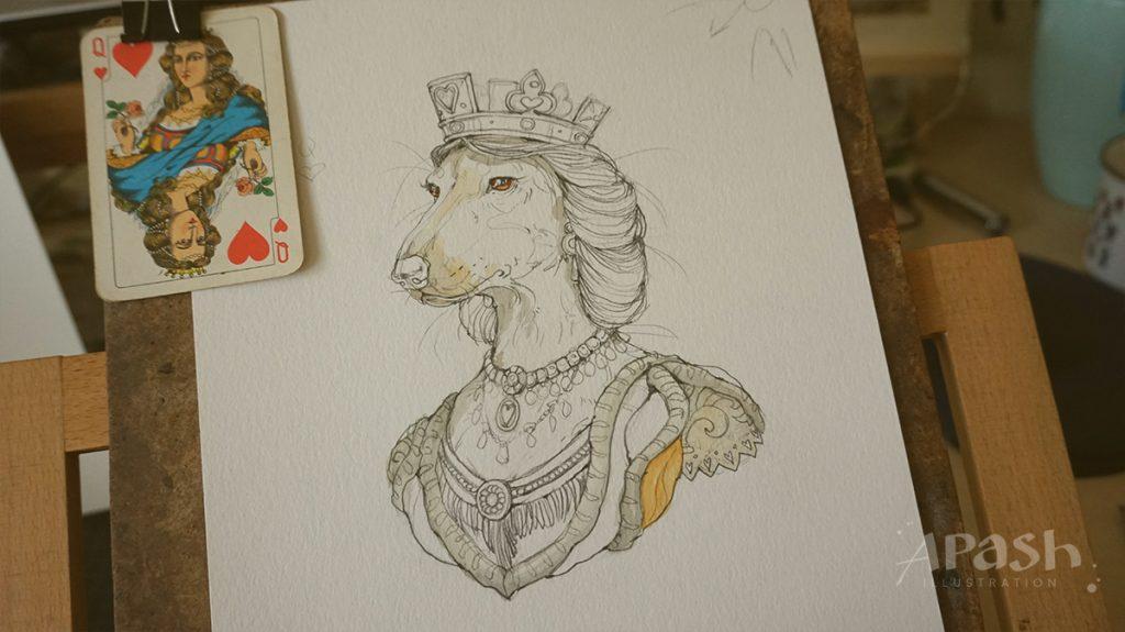 Картинката не може да има празен alt атрибут; името на файла е apash-illustration-dog-cards-poker-playing-men-kupa-dog-kingdom-work-in-process-King-Ace-bird-dog-Queen-dama-lady-kupa-heart-1024x575.jpg
